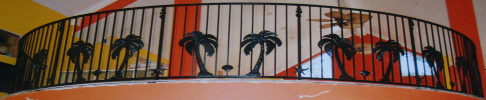 Balcony Railings by Monty Ladner Wrought Iron