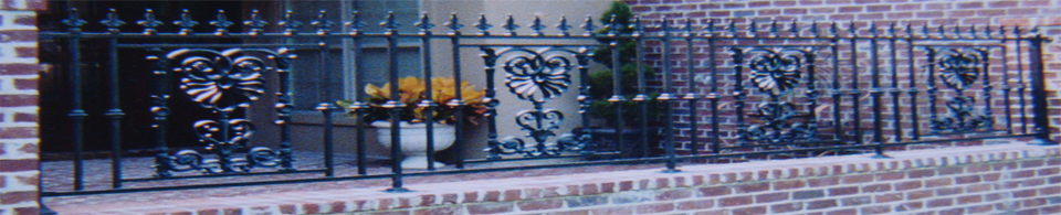 Custom Wrought Iron and Aluminum Fence