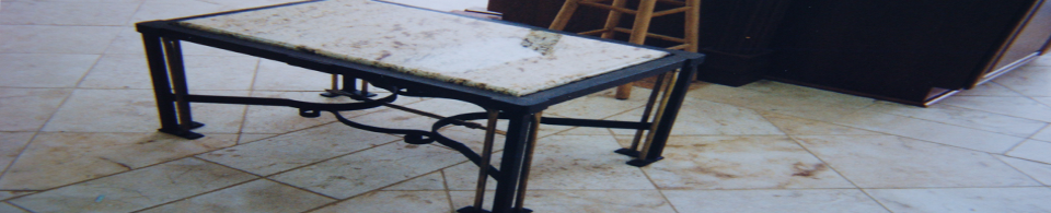 Custom Wrought Iron and Aluminum Furniture
