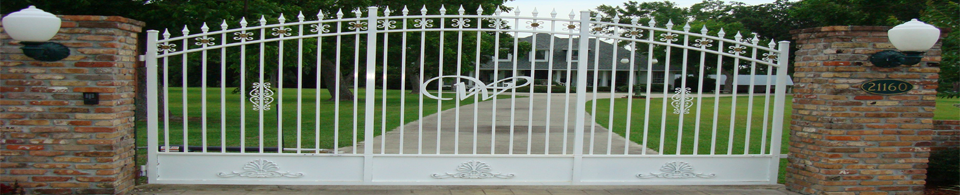 Custom Wrought Iron and Aluminum Gates by Monty Ladner Wrought Iron